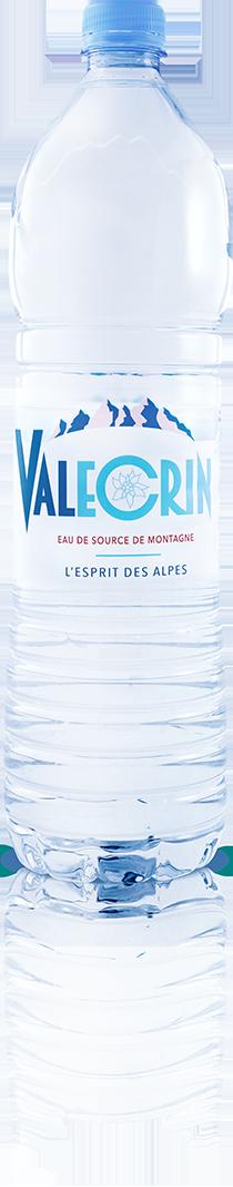 Eau de source 1,5 L Valécrin