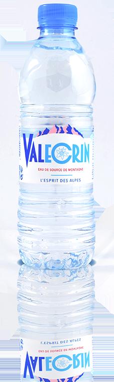 Eau de source 50cl Valécrin