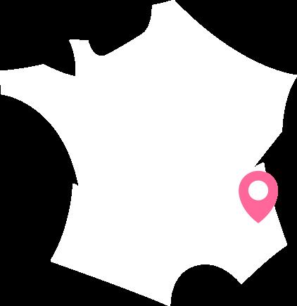 Situation géographique du Massif des Écrins